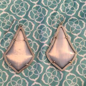 Kendra Scott Alex Silver Drop Earrings